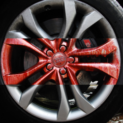 How to use alloy wheel cleaner