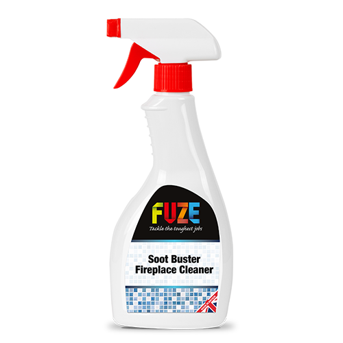 Fireplace cleaner, Soot Buster