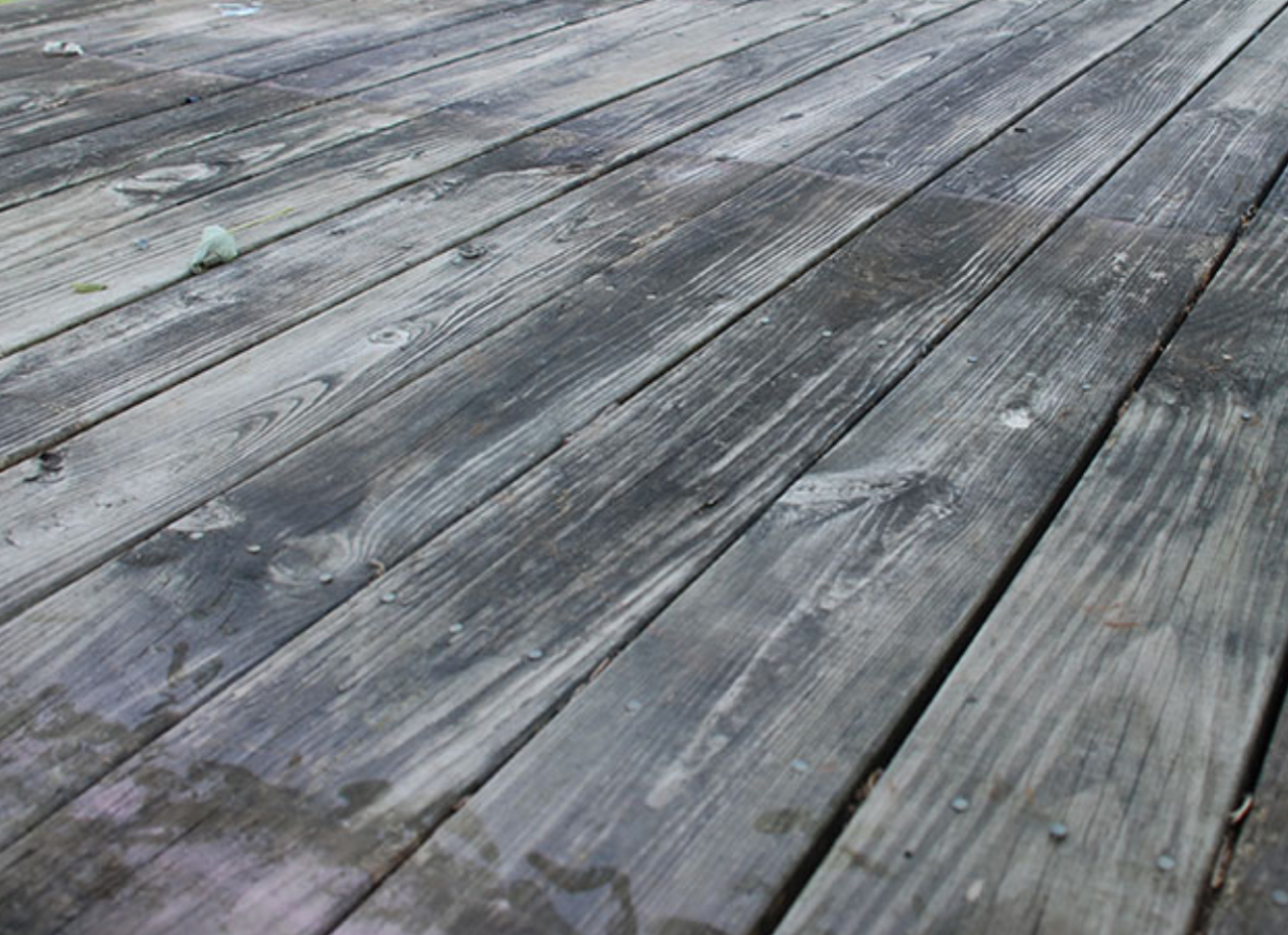 Renovating and Painting Decking